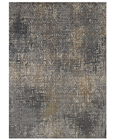 Tryst Botan Anthracite 2'6 x 8' Runner Area Rug