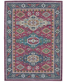 Meraki Meridian Fuchsia Area Rug Collection