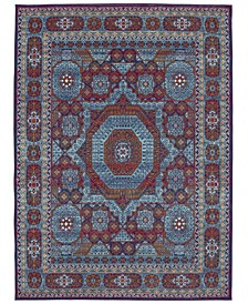 Meraki Capstone Peacock Area Rug Collection