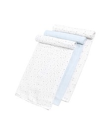 Gertex Dream Baby Boys Swaddle 3 Pack in Giftbox