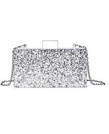 Confetti Acrylic Clutch Handbag