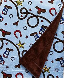 Minky Baby Boy Blanket