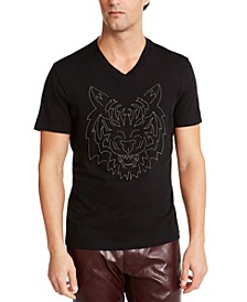 INC Men's Sonja Tiger Graphic T-Shirt, Created For Macy's
