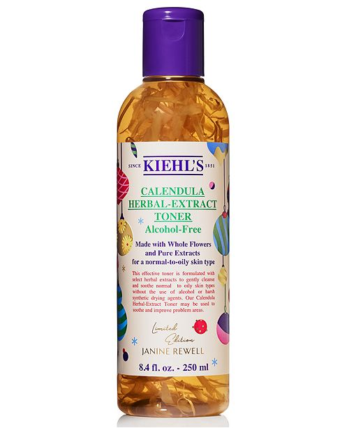 Kiehl's Since 1851 Limited Edition Calendula Herbal-Extract Toner, 8.4-oz.