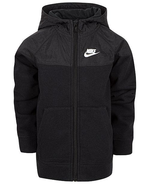 Nike Little Boys Dri-FIT Advance15 Knit Zip-Up Hoodie