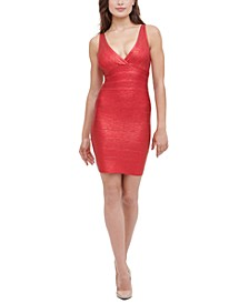 Bandage Foil Dress