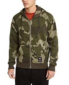 Men's Manes Raglan Hooded Zip Sweater