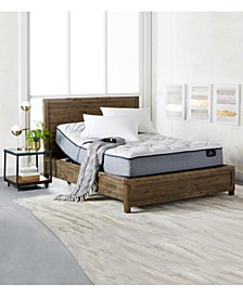 "Perfect Sleeper Kleinmon II 11"" Plush Mattress Set- Queen"