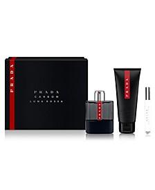 Men's 3-Pc. Luna Rossa Carbon Gift Set