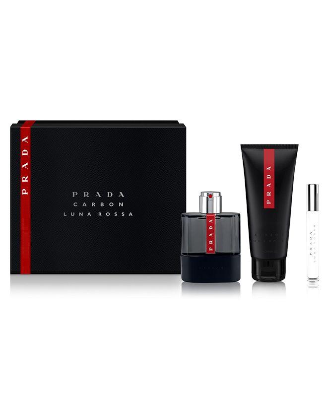 Prada Men's 3-Pc. Luna Rossa Carbon Gift Set