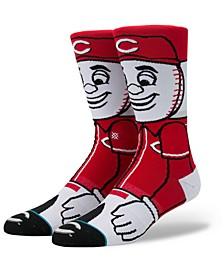 Cincinnati Reds Mascot Crew Socks