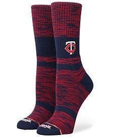 Stance Women's Minnesota Twins Classic Crew Socks