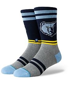 Stance Memphis Grizzlies City Gym Crew Socks