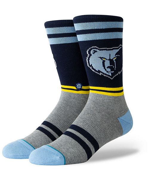 Stance Memphis Grizzlies City Gym Crew Socks