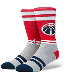 Washington Wizards City Gym Crew Socks