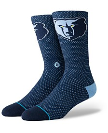 Stance Memphis Grizzlies Arena Jersey Pack Crew Socks