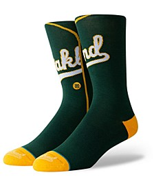 Oakland Athletics Alternate Jersey Series Crew Socks