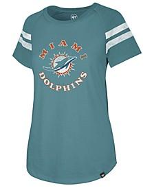 Women's Miami Dolphins Flyout Raglan T-Shirt