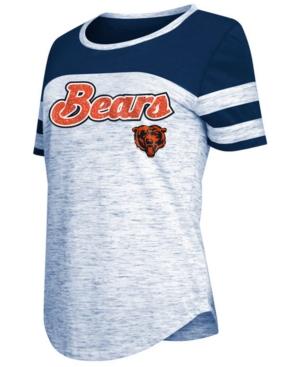 5th & Ocean Womens Chicago Bears Space Dye T-Shirt