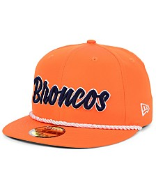 New Era Denver Broncos On Field Sideline Home 59FIFTY Fitted Cap