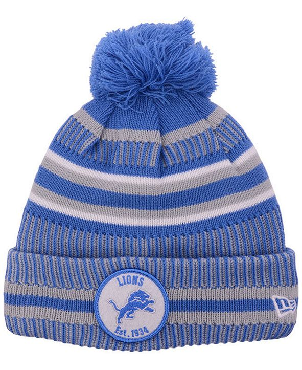 New Era Detroit Lions Home Sport Knit Hat