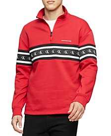 Men's Logo Quarter-Zip Sweatshirt