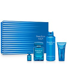 Perry Ellis Men's 4-Pc. Aqua Gift Set