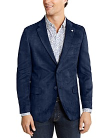 Men's Modern-Fit Faux-Suede Sport Coat