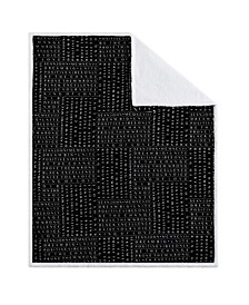 "CLOSEOUT! Black Excellence 50"" x 70"" Boxed Throw"