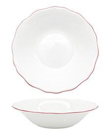Amelie Roseate Rim Soup/Pasta Bowl
