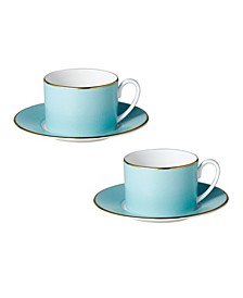 Charlotte Cups & Saucers - Set of 2