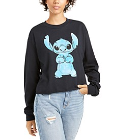 Love Tribe Juniors' Stitch Graphic Sweatshirt