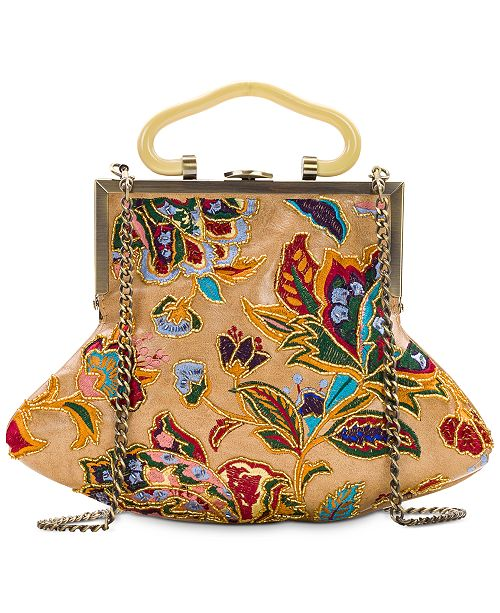 Patricia Nash French Tapestry Beading Almarza Clutch