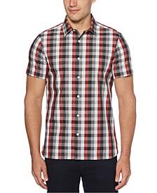 Men's Checked Slim-Fit Shirt