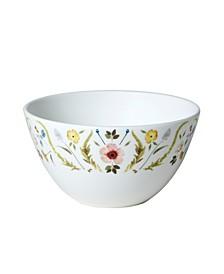 Scandinavian Floral Cereal/Soup Bowl