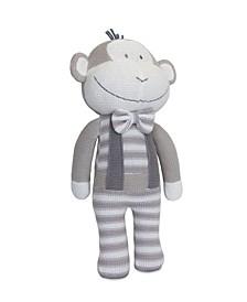 Knitted Plush Monkey Toy