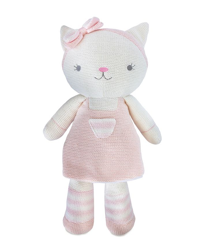 Living Textiles - Ava Cat Knitted Plush Toy