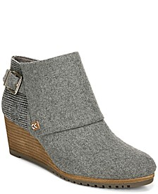 Create Wedge Booties