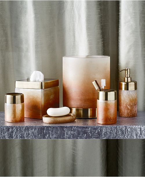 Michael Aram Torched Bath Accessory Collection
