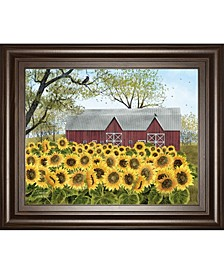 """Sunshine by Billy Jacobs Framed Print Wall Art - 22"""" x 26"""""""