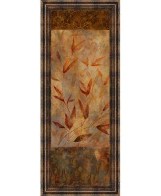 "Autumn's Allure I by Carol Robinson Framed Print Wall Art - 18"" x 42"""