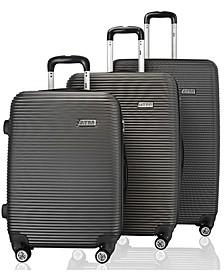 Wave Collection 3 Pc. Hardside Luggage Set