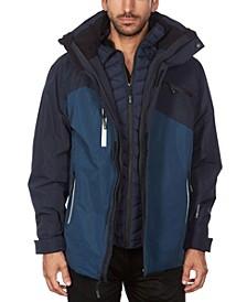 Men's Hooded 3 in 1 System Jacket