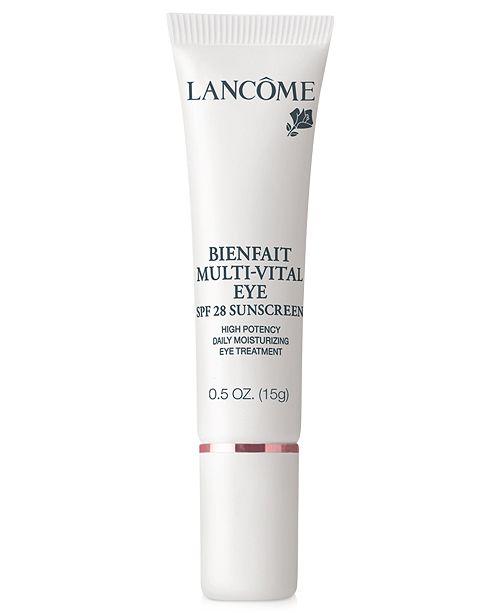 Lancome Bienfait Multi-Vital Eye SPF 28 Sunscreen, 0.5 oz
