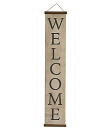 Welcome Canvas Banner