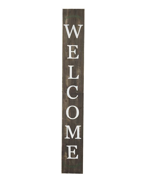 "TX USA Corporation Welcome 72"" Porch Sign"