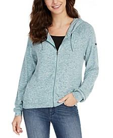Juniors' Like A Dream Zip-Front Hoodie
