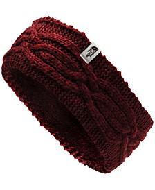 Women's Cable-Knit Fleece-Lined Earband