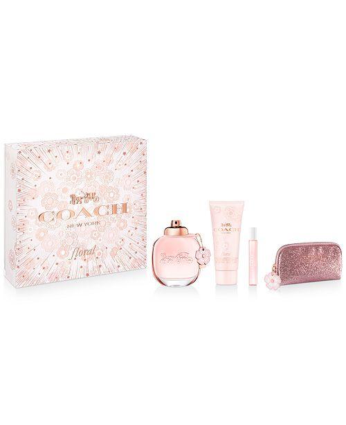 COACH 4-Pc. Floral Eau de Parfum Gift Set