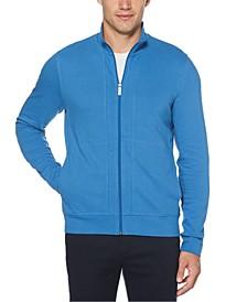 Men's Ottoman Full-Zip Sweater